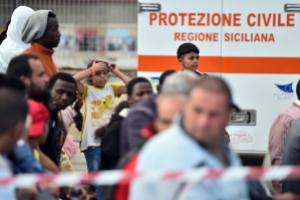 ITALY-IMMIGRATION-REFUGEE-RESCUE