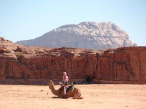 A Bedouin in Wadi Rum